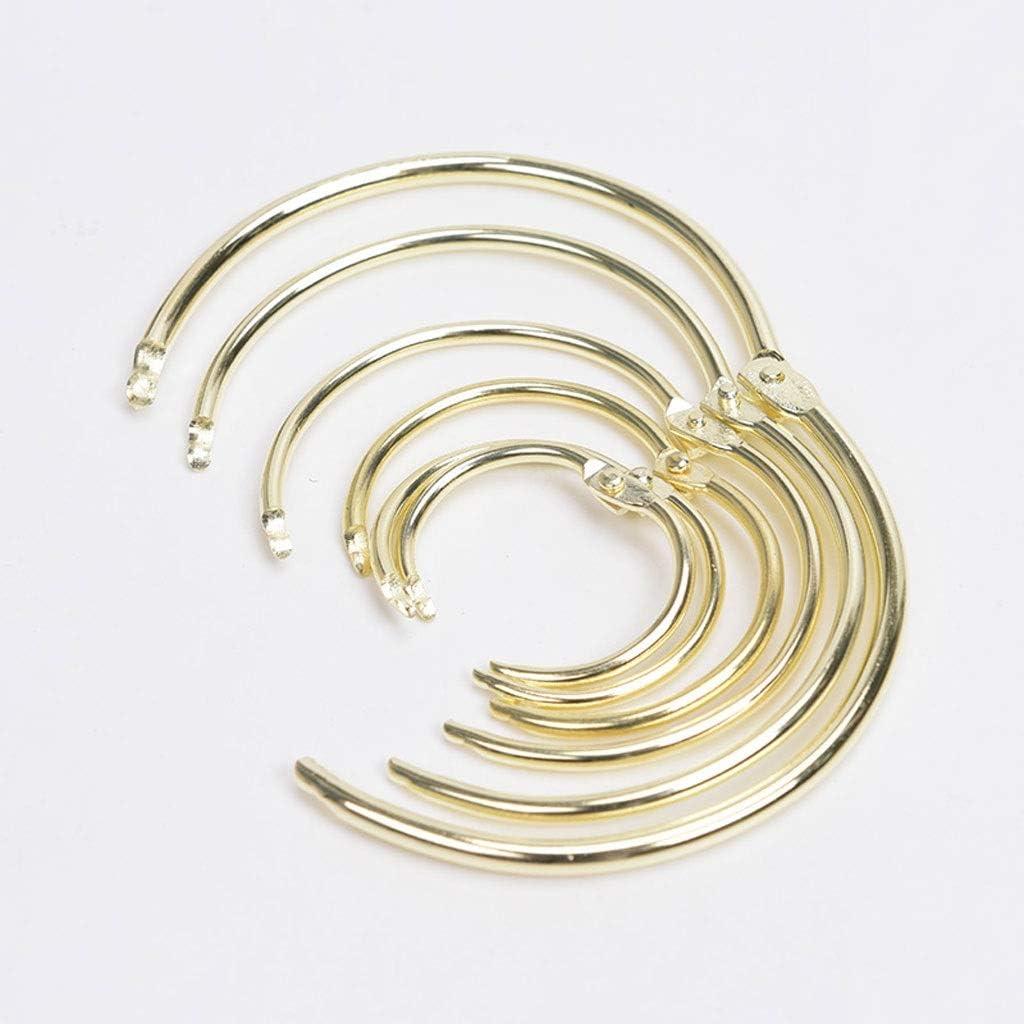 Decorative Drapery latest Rings Shower Stain Curtain Hooks Split 100% quality warranty!