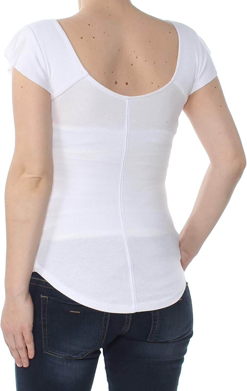 Free People Womens Last Call Basic T-Shirt