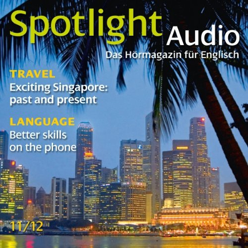 Spotlight Audio - Exciting Singapore. 11/2012 Titelbild
