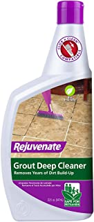 Rejuvenate Grout Deep Cleaner Safe Non-Toxic Cleaning Formula Instantly Removes Years of..