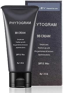 [Amazon限定ブランド] フィトグラム BBクリーム ミディアム シボレー メンズ 30g ( 男性用 ニキビ 青ヒゲ ファンデーション )