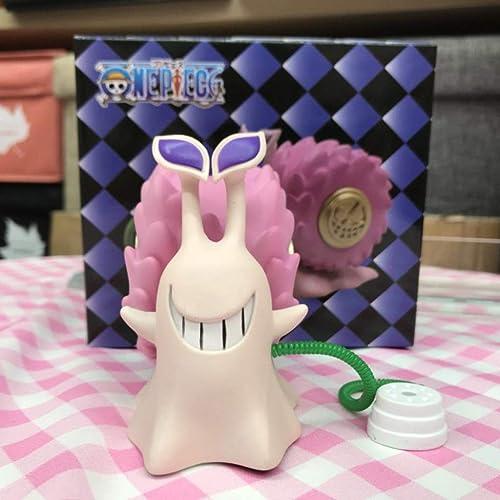 SHWSM Spielzeugfigur Spielzeug Modell Anime Charakter Kunsthandwerk Dekorationen   9CM Toy Statue (Farbe   Rosa)