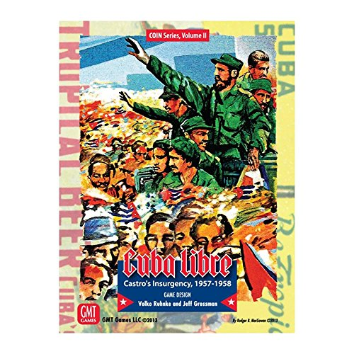 GMT Games 331469 Cuba Libre Third Printing Coin Vol 2, Mehrfarbig