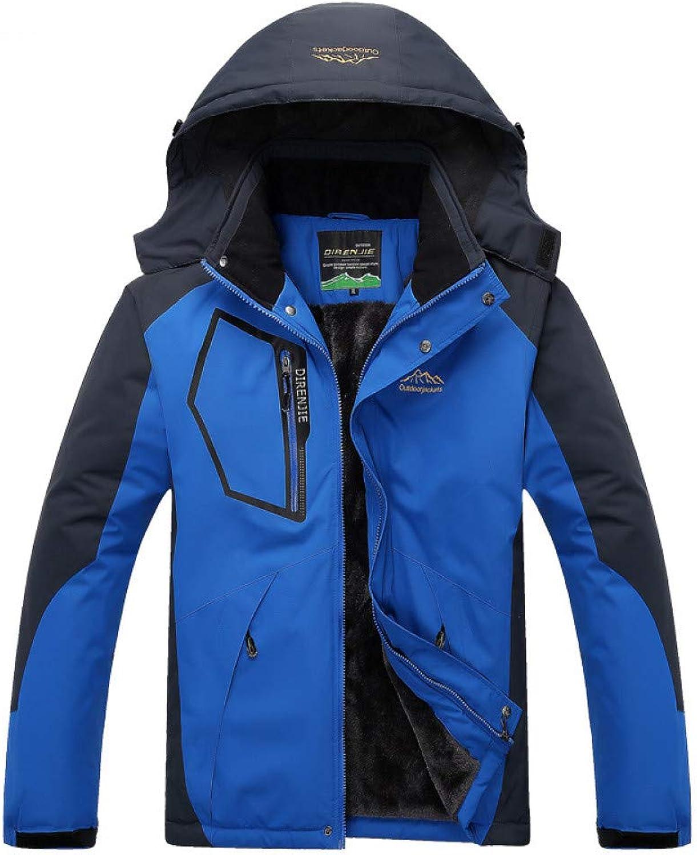 Zjsjacket Ski Jacket 2018 Men's Winter Inner Fleece Waterproof Jacket Outdoor Sport Warm Brand Coat Hiking Camping Trekking Skiing Male Rain Jackets