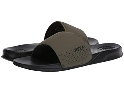 Reef One Slide (Black/Olive) Men