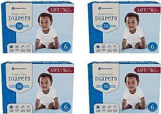 member's mark comfort care diapers