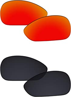 Galvanic Replacement Lenses for Oakley Crosshair 1.0 Sunglasses - Multiple Choices