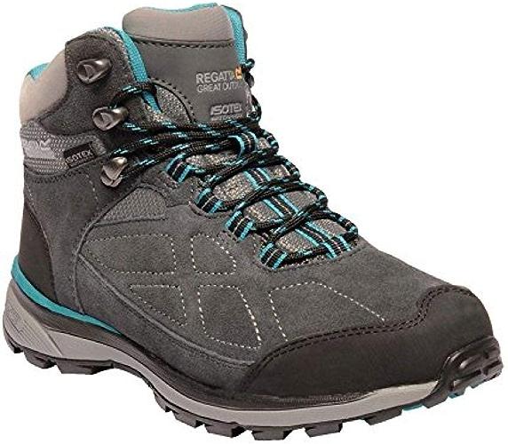 Regatta - Bottes de randonnée Samaris - Femme (38) (Taupe Bleu)