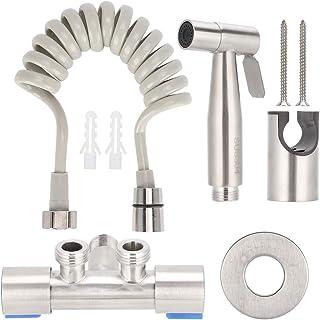 Stainless Steel Bidet Sprayer Toilet Bidet Parts Attachment Accessories USA