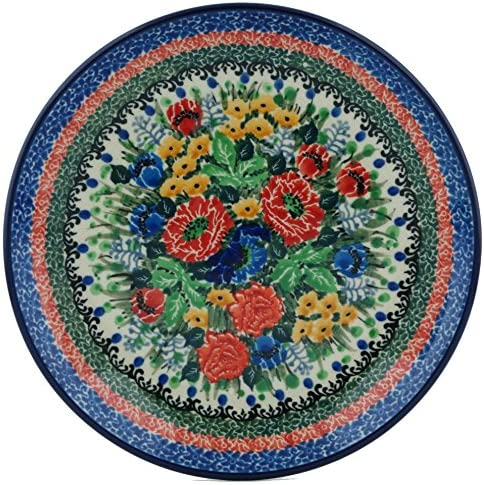 Polish Pottery 7¾-inch Large special price !! lowest price Dessert Plate Ceramika made Artysty by