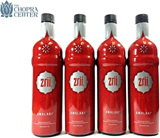 The Original Zrii Amalaki - 4 Bottles Pack Mix 750ml, Endorsed by Chopra Center, The Great Rejuvenator, Antioxidant-Rich Juice, Botanical Drink of Ayurvedic Medicine