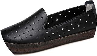 New-Loft-women flat platform sandals shoes Flats Slip on Flat Loafers Cutout Comfort