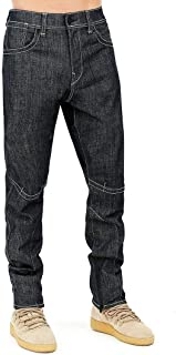 True Religion Urban Elements Mens Urban Relaxed Taper Jean, Size 30, 299 Blue