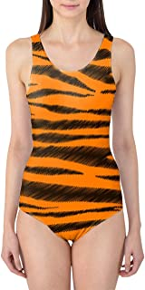Rainbow Rules Tigger Stripes Winnie The Pooh Inspired Women's Swimsuit