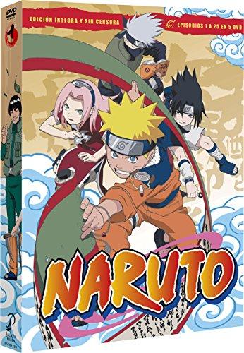 Naruto Box 1 Episodes 1 To 25 [DVD]