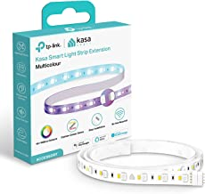 TP-LINK Kasa Smart Light Strip, 1 m Extension, Wi-Fi App Control RGB Multicolour LED Strip, No Hub Required, Compatible wi...