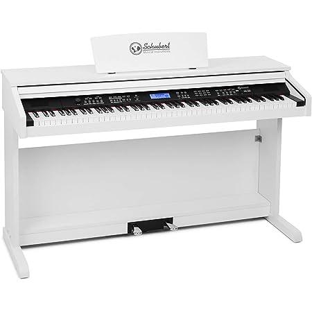 Schubert Subi 88 MK II - Piano digital, Teclado eléctrico de 88 teclas, MIDI, USB, 360 sonidos, 160 ritmos, 80 canciones demo, Pantalla LCD, ...