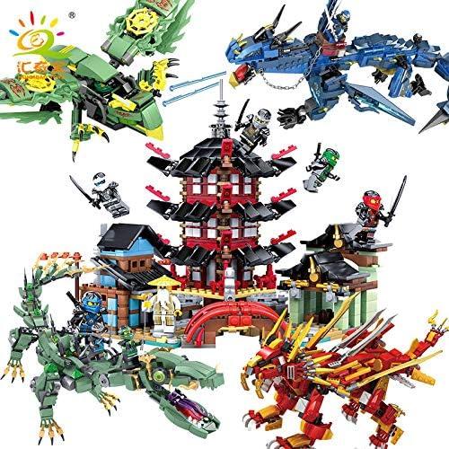tienda CHJ - Bloques de construcción para Niños Niños Niños con Forma de L y Luces de Fantasma, compatibles con el Templo de Lego Ninja de 6 a 12 años  venta caliente
