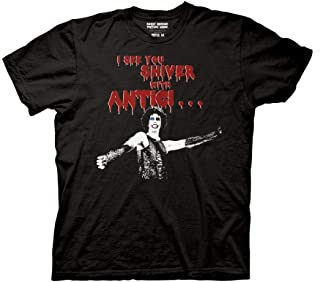 Ripple Junction The Rocky Horror Picture Show Adult Unisex Anticipation Light Weight 100% Cotton Crew T-Shirt