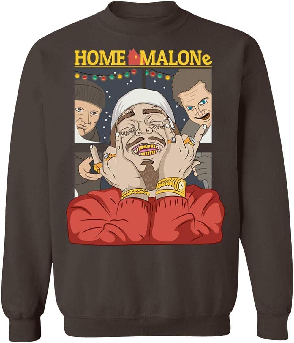 Home Malone Funny Home Alone Christmas Movie Custom Unisex Sweatshirt