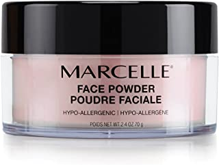 Marcelle Face Powder, Translucent Medium, Hypoallergenic and Fragrance-Free, 70 g