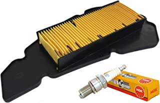 Luftfilter Nypso 100602501 Zündkerze NGK DPR7EA 9 Malaguti Blog Centro 125 160