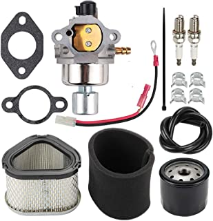 Fuel Li 1285393-S Carburetor + 1208310-S Air Filter Kit for Kohler CH13S CH15GS CH15S CH16S CV14 CV12.5 CV15 CV16S CH15 CH13 CV16 12.5HP -16HP Engine Replace 1285395-S 12-853-58 12-853-95-S 12-853-8