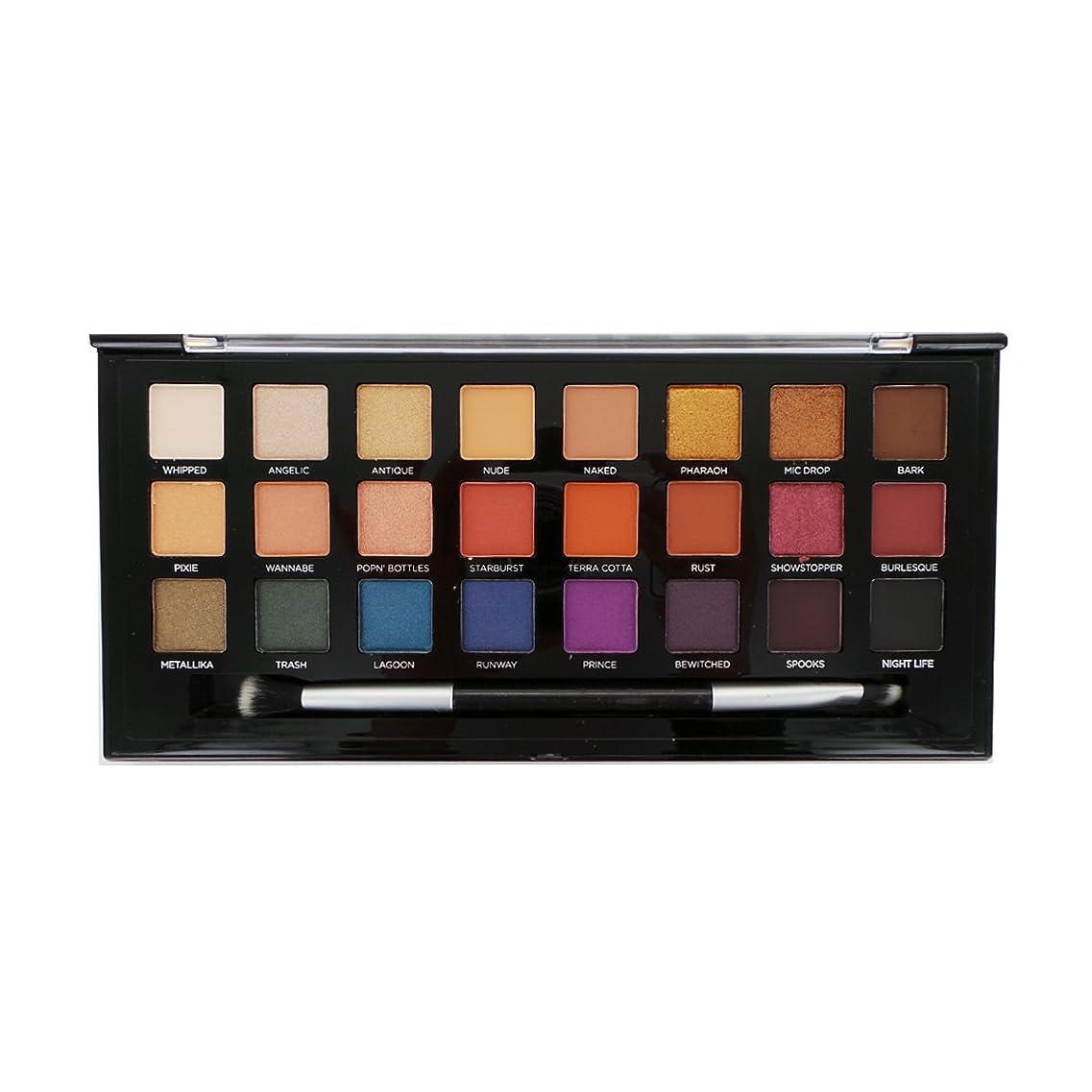 受取人プレミアム食物PROFUSION Glitter & Glam 24 Eyeshadow Palette - B (並行輸入品)
