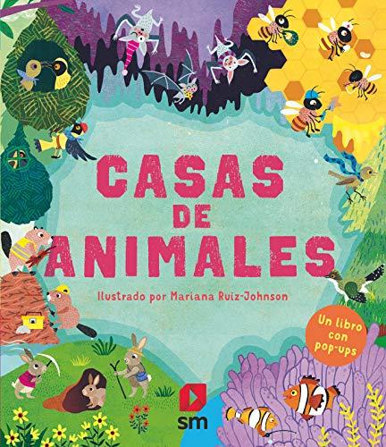 Casas de animales: Un libro en pop up