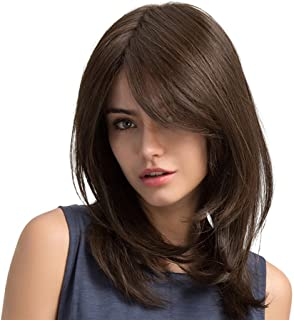 Amazon.fr : perruque brune longue
