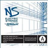 D'Addario NS713 - Cuerda para bajo de acero en La, 4/4 (tensión media)