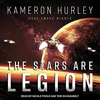 The Stars Are Legion                   Written by:                                                                                                                                 Kameron Hurley                               Narrated by:                                                                                                                                 Nicole Poole,                                                                                        Teri Schnaubelt                      Length: 11 hrs and 49 mins     4 ratings     Overall 4.0