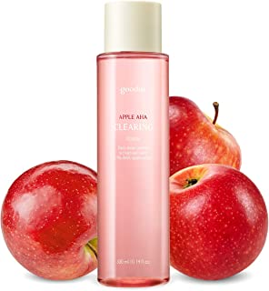 Goodal Apple AHA Clearing Toner for Sensitive Skin   Natural, Gentle, Clarifying, Peeling, Exfoliating, Toning, Pore-Tight...