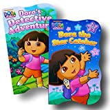 Baby Toddler Board Books - Set of 2 (Dora the Explorer Board Books)