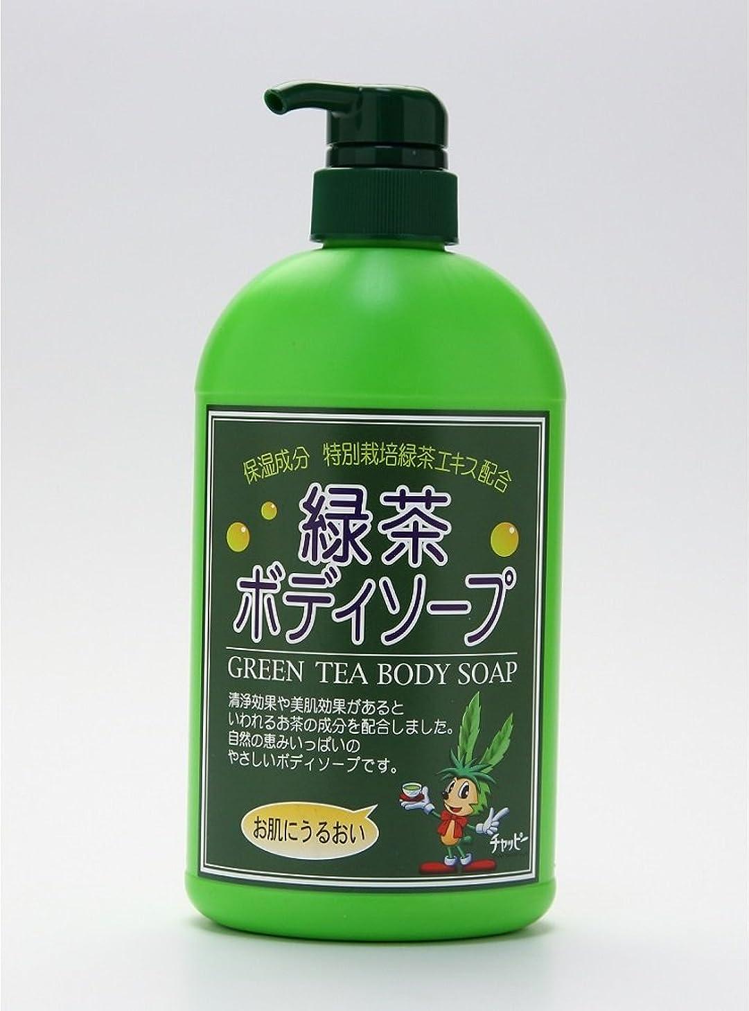 ただ醸造所独裁者緑茶ボディーソープ 550ml
