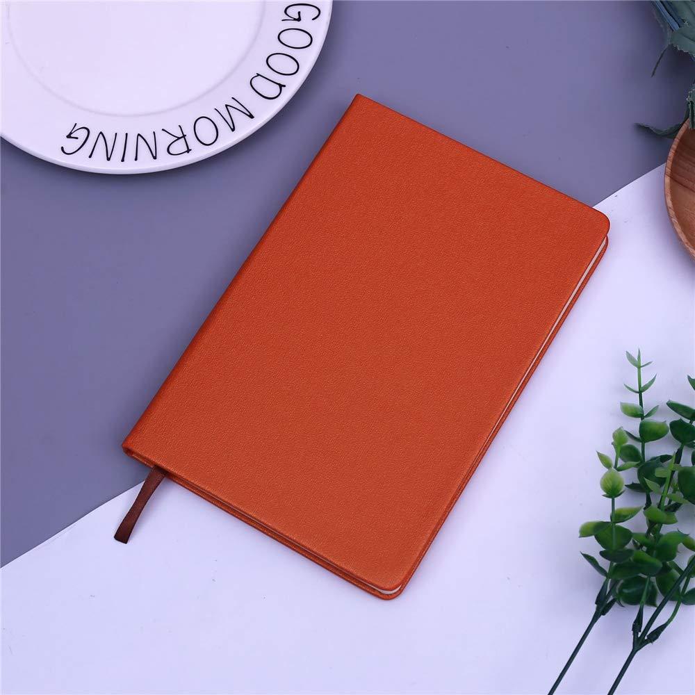 Cuaderno - Cuaderno de punto de tapa dura A5 con soporte para bolígrafo - Papel grueso de alta calidad Diario 144X212: Amazon.es: Oficina y papelería