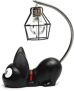 Resina creativa Kiki Cat Animal Luz de la noche, Adornos Decoración del hogar Regalo Pequeño gato Nursery Lámpara Respiración LED Lámpara de noche