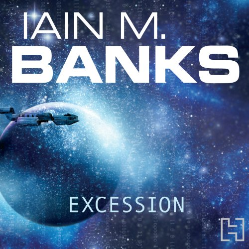 Excession audiobook cover art