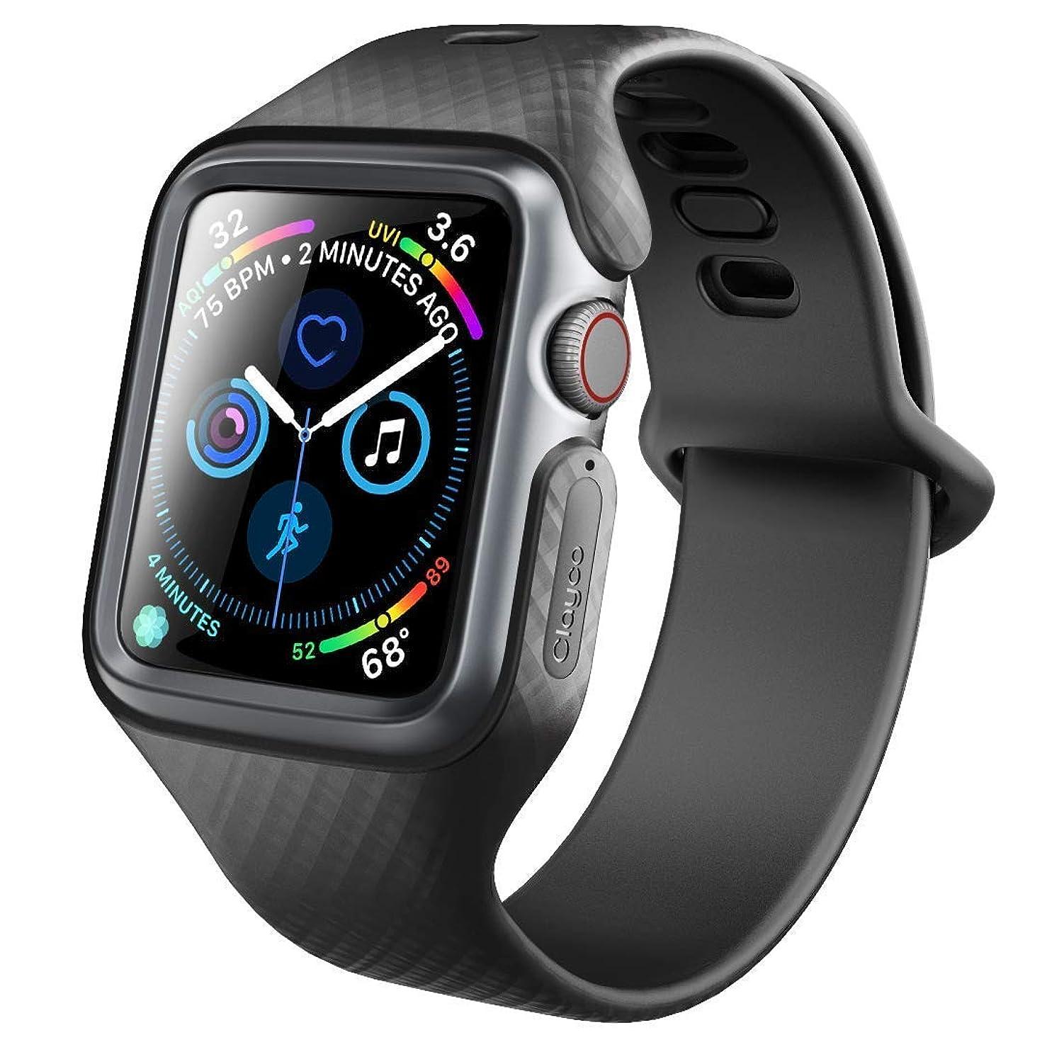 伝統的おじさんパトワClayco Apple Watch バンド 44mm 2018 スリム ストラップ apple watch series 4 対応 交換用 ベルト