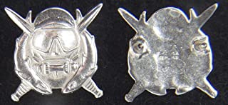 Special Operations Diver Badge Sterling Silver Mess Dress; P-2225