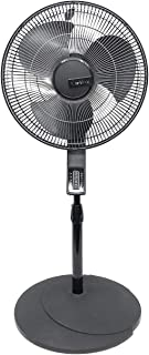 Lasko Elite Collection Oscillating 4-Speed Pedestal Fan with Remote, Automatic Thermostat, and Timer