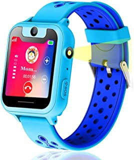 Themoemoe Kids smartwatch, Kids GPS Watch Gifts for 4-8 Year Old Girls Touchscreen Camera Game Compatible with 2G T-Mobile...