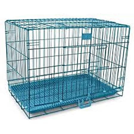 Hanu Enterprises Metal Heavy Duty Crate Strong Cage for Big and Adult Dog (49 Inches)