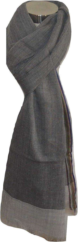 100% Merino Wool Scarf,Herringbone Jacquard, Soft, Light, Very Warm, Breathable,Wool Scarf.