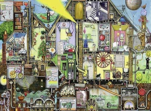 WLYUE 1000 Teile Puzzle Piece Jigsaw Puzzle Morgen Weltbilder und Kinder ab Teile Jumbo Spiele