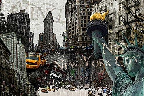 Feeling at home Kunstdruck-auf-Papier-cm_60_X_92-GraphINC-Stadtansicht-Bild-Poster-Menschen-/-Orte-Bundesstaat-New-York-Vereinigte-Staaten-Stadtlandschaften-New-York-City