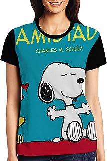Snoopy レディース ファッション トップス 半袖 Tシャツ 夏 春 ゆったり シンプル