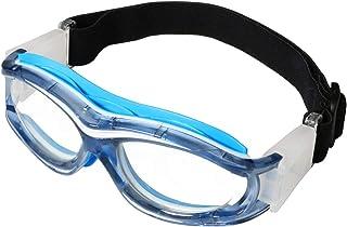LIOOBO Gafas de Bicicleta a Prueba de Golpes a Prueba de Golpes f/útbol f/útbol f/útbol Gafas Protectoras Baloncesto Gafas Ciclismo Deportes al Aire Libre Gafas de Seguridad Azul