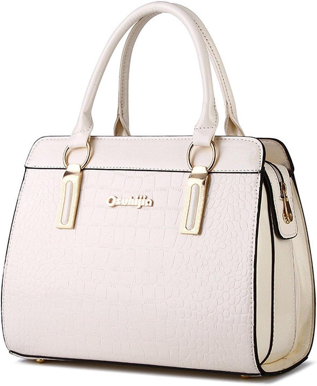 Frauen Messenger Bags Tote Crossbody Geldbörsen Leder Clutch Handtaschen Berühmte Designer Beige Max Länge 32 CM B07FQKRHW4  Meistverkaufte weltweit