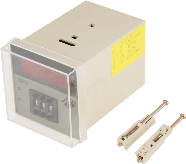 220V 0-399℃ High Accuracy PID Digital Electric XMTD-2002 Th